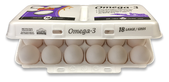 Gold Egg Nutritionally Enhanced